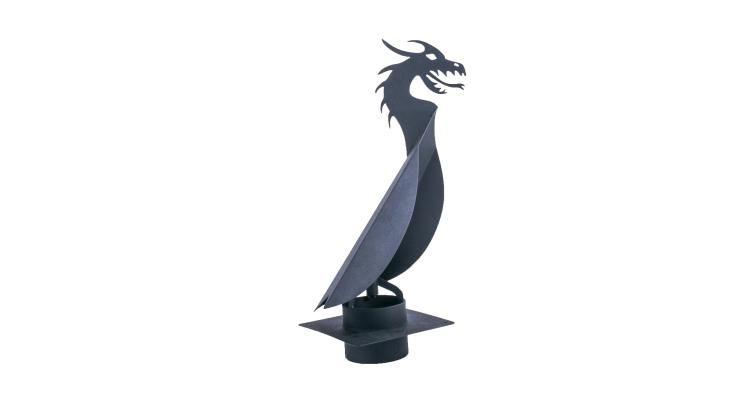 Флюгер-дымник ВиндВуду Дракон 110-130