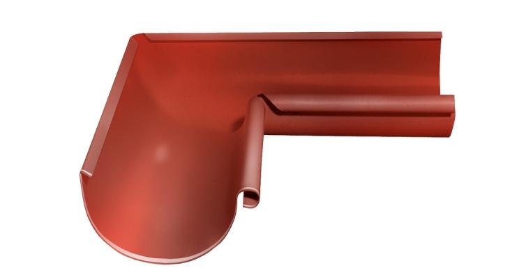 Угол желоба внутренний, 90 гр,125 мм RAL 8004