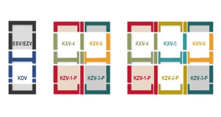 Оклад KZV-1 55х98