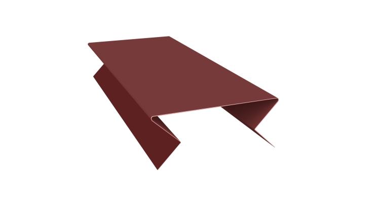 Планка угла внешнего составная нижняя 0,45 PE с пленкой RAL 3009