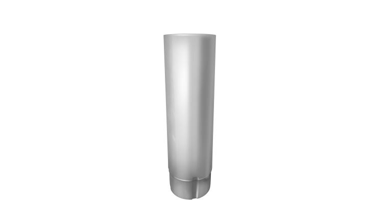 Труба круглая,100 мм 3 м RAL 9003