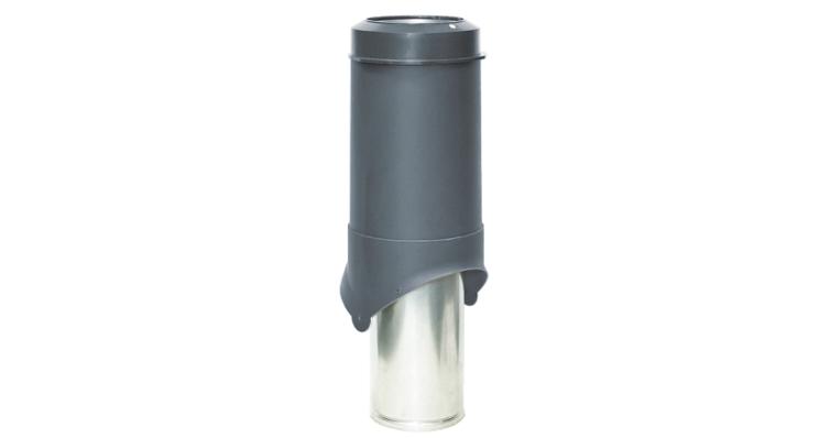 Выход вентиляции Krovent Pipe-VT 150 серый