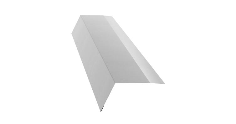 Планка карнизная 100х65 0,5 Satin с пленкой RAL 9003
