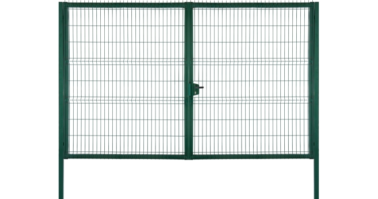 Ворота Profi Lock 2,43х4,0 RAL 6005