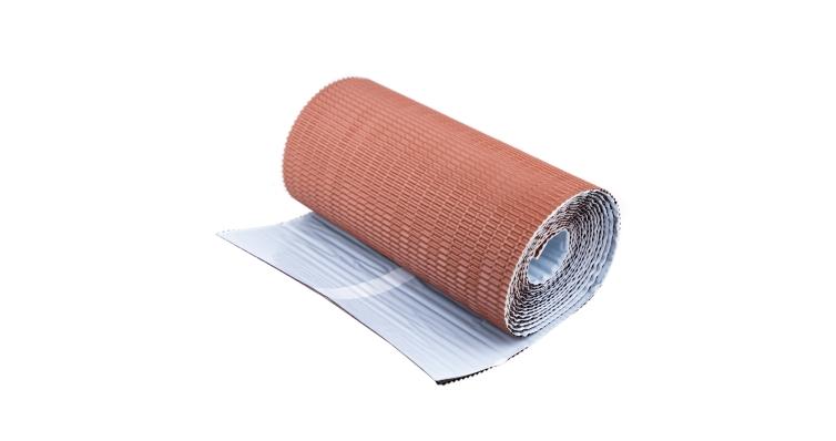 Лента для примыкания гофр. алюм. GRAND LINE кирпичный (5м)