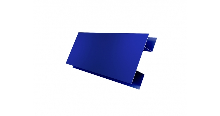 Планка H-образная 0,45 PE с пленкой RAL 5002