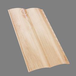 Металлический сайдинг Блок-хаус GL c покрытием Print (ZN 125 г/м.кв.
