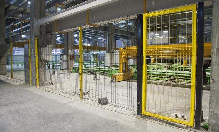 Ограждения Profi для промышленных объектов
