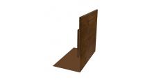 Металлические доборные элементы для фасада Планка приемная оконная