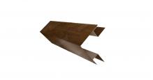 Доборные элементы (Блок-хаус/ЭкоБрус) Grand Line Планка угла внешнего сложного (ЭкоБрус)
