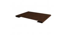 Металлические доборные элементы для фасада Планка стыковочная простая 60мм