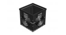 Дренажные системы Gidrolica Точечный дренаж. Дождеприемник пластиковый 300*300