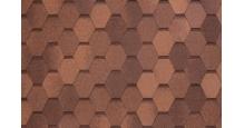 Гибкая черепица Тегола светло-коричневый Коллекция NOBIL TILE