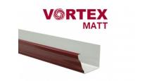Металлические водосточные системы Grand Line с покрытием Drap Металлическая водосточная система Vortex Matt прямоугольная