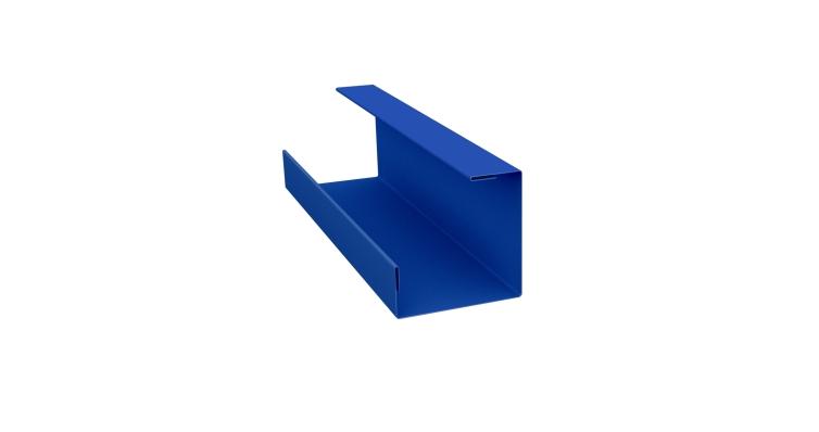Планка угла внутреннего составная нижняя 0,45 PE с пленкой RAL 5005