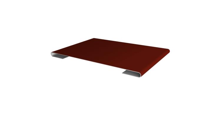 Планка стыковочная 0,45 PE с пленкой RAL 3009 оксидно-красный