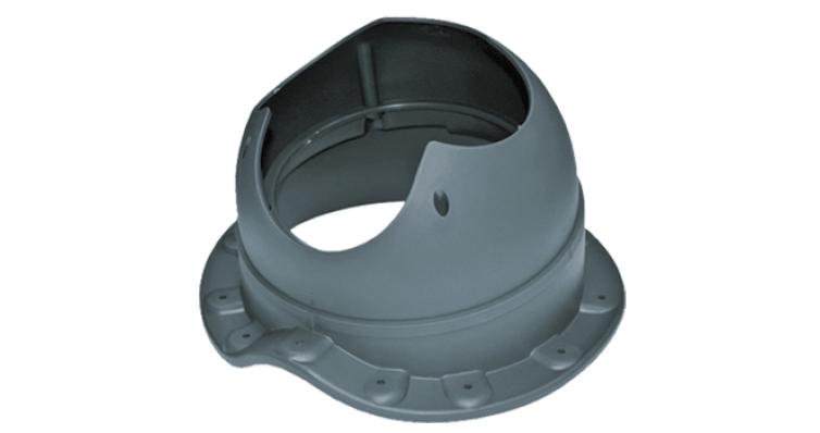 Проходной элемент Krovent Base-VT Wave 110 серый