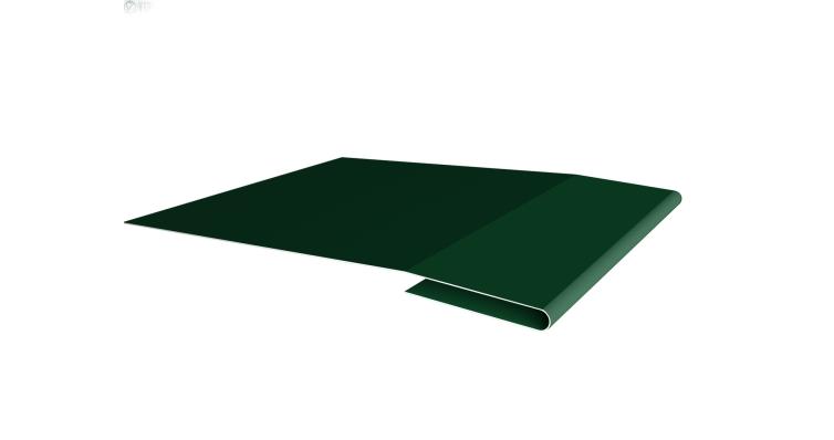 Планка начальная 0,45 PE с пленкой RAL 6005 зеленый мох