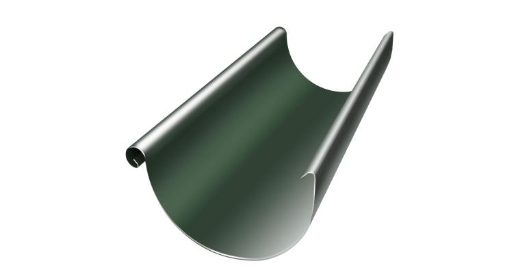 Желоб полукруглый 125 мм 3 м RR 11 темно-зеленый