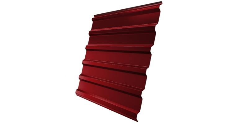 Профнастил С20R 0,45 PE RAL 3011 коричнево-красный