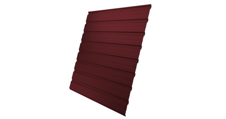 Профнастил С10В 0,45 PE RAL 3005 красное вино