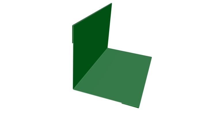 Планка угла внутреннего 110х110 0,45 PE с пленкой RAL 6002 лиственно-зеленый