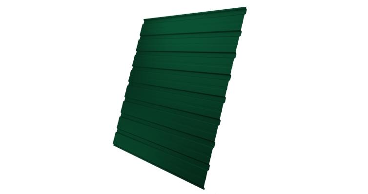 Профнастил С10В 0,45 PE RAL 6005 зеленый мох