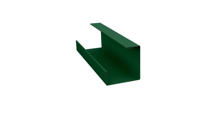 Планка угла внутреннего составная нижняя 0,45 PE с пленкой RAL 6005