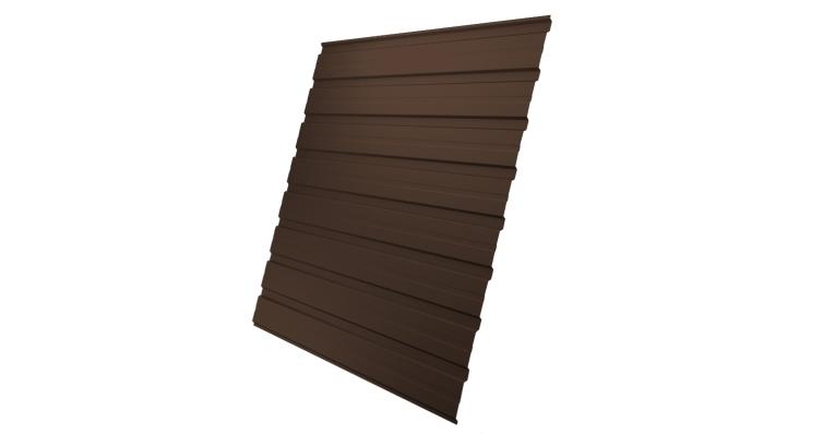 Профнастил С10В 0,45 PE RAL 8017 шоколад