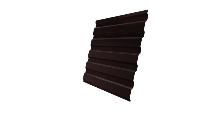 Профнастил С20А 0,4 PE RAL 8017 шоколад