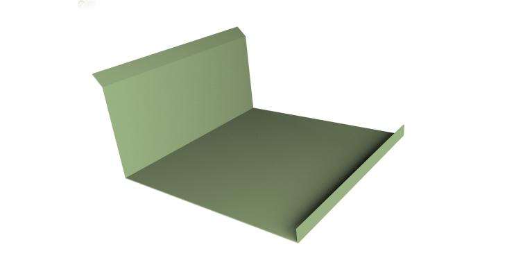 Планка примыкания нижняя 20х122х260х15 0,45 PE с пленкой RAL 6019