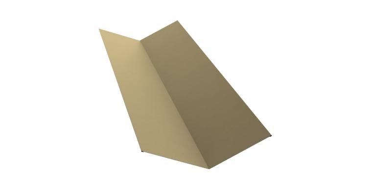 Планка ендовы верхней 145х145 0,45 PE с пленкой RAL 1014