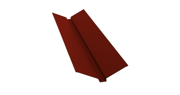 Планка ендовы верхней 115х30х115 0,45 PE с пленкой RAL 3009