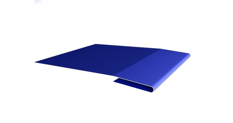 Планка начальная 0,45 PE с пленкой RAL 5002 ультрамариново-синий