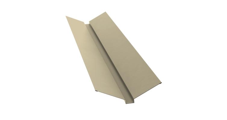 Планка ендовы верхней 115х30х115 0,45 PE с пленкой RAL 1015
