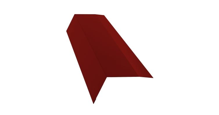 Планка карнизная 100х65 0,7 PE с пленкой RAL 3011