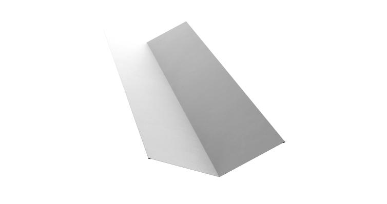 Планка ендовы верхней 145х145 0,7 PE с пленкой RAL 9003