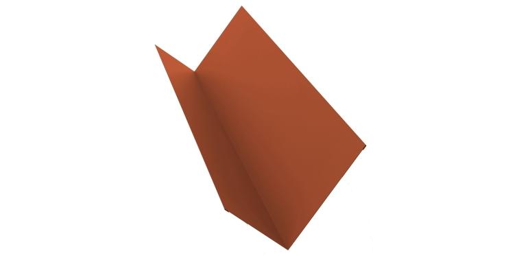 Планка примыкания 150х250 0,5 Satin с пленкой RAL 8004