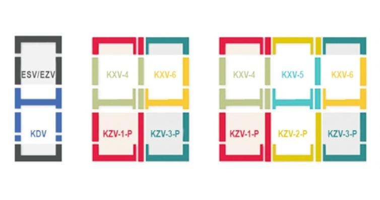 Оклад комбинированный KSV-1 55х98