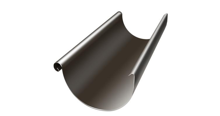Желоб полукруглый 125 мм 3 м RR 32 темно-коричневый