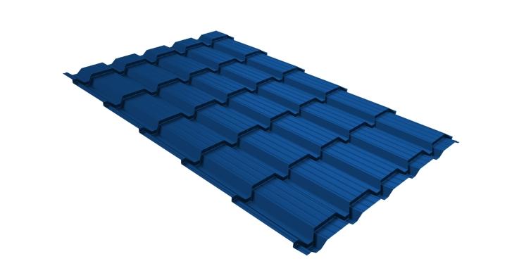 Металлочерепица квадро 0,45 PE RAL 5005