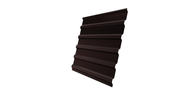 Профнастил С20В 0,45 PE RAL 8017 шоколад