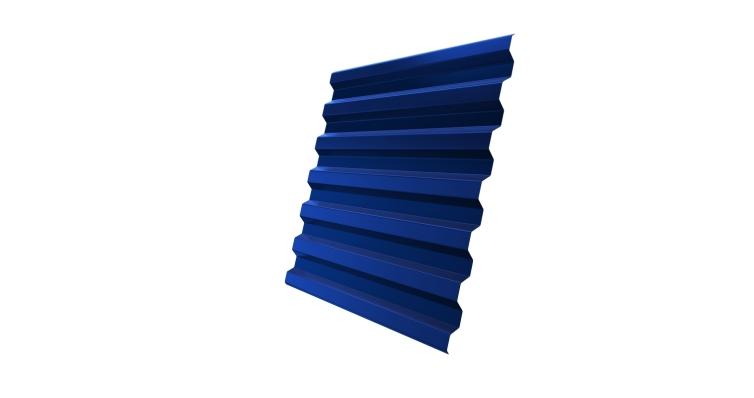 Профнастил С21R 0,45 PE RAL 5005 сигнальный синий