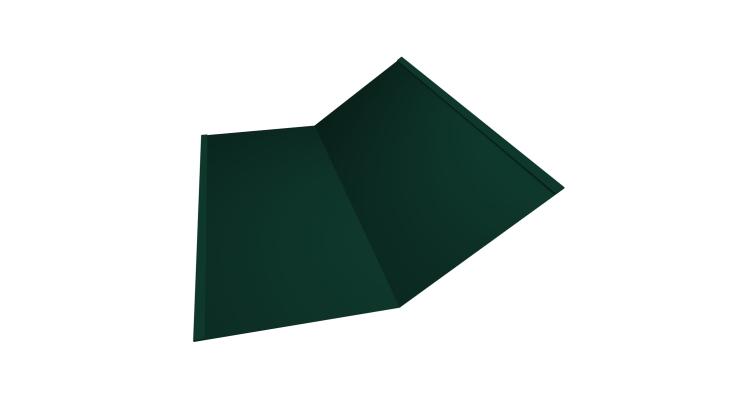 Планка ендовы нижней 300х300 0,5 Satin с пленкой RAL 6005