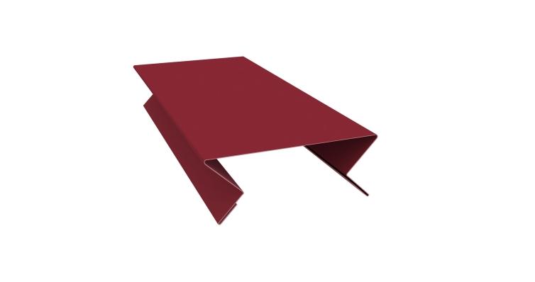 Планка угла внутреннего составная верхняя 0,45 PE с пленкой RAL 3005