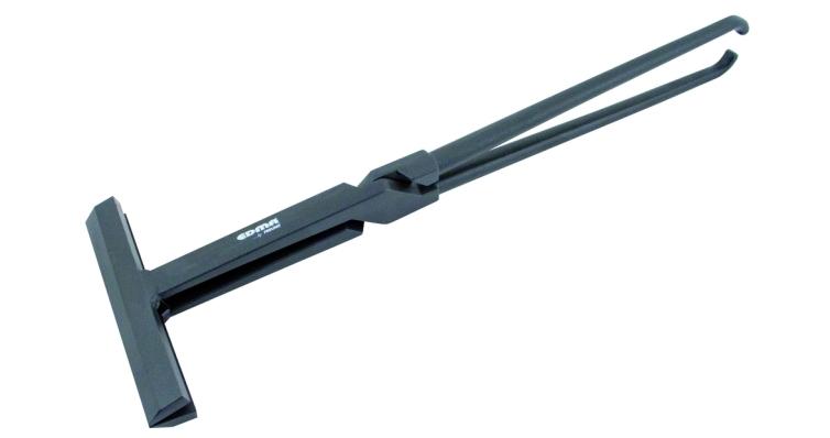 Клещи большие прямые 180мм накладное соединение EDMA - 030555