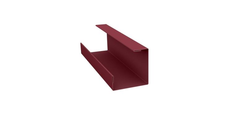 Планка угла внутреннего составная нижняя 0,45 PE с пленкой RAL 3005