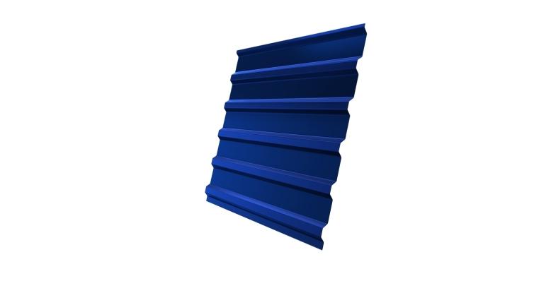 Профнастил С20В 0,45 PE RAL 5005 сигнальный синий