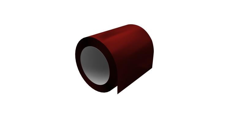 Отмотка 0,45 PE с пленкой RAL 3011 коричнево-красный