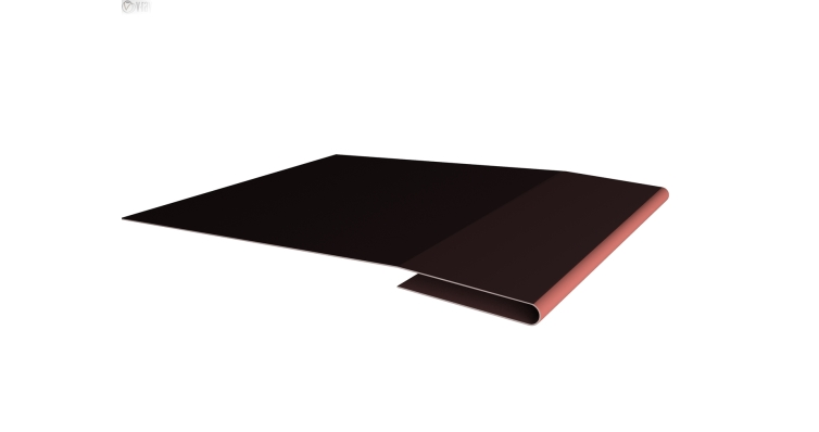 Планка начальная 0,45 PE с пленкой RAL 8017 шоколад